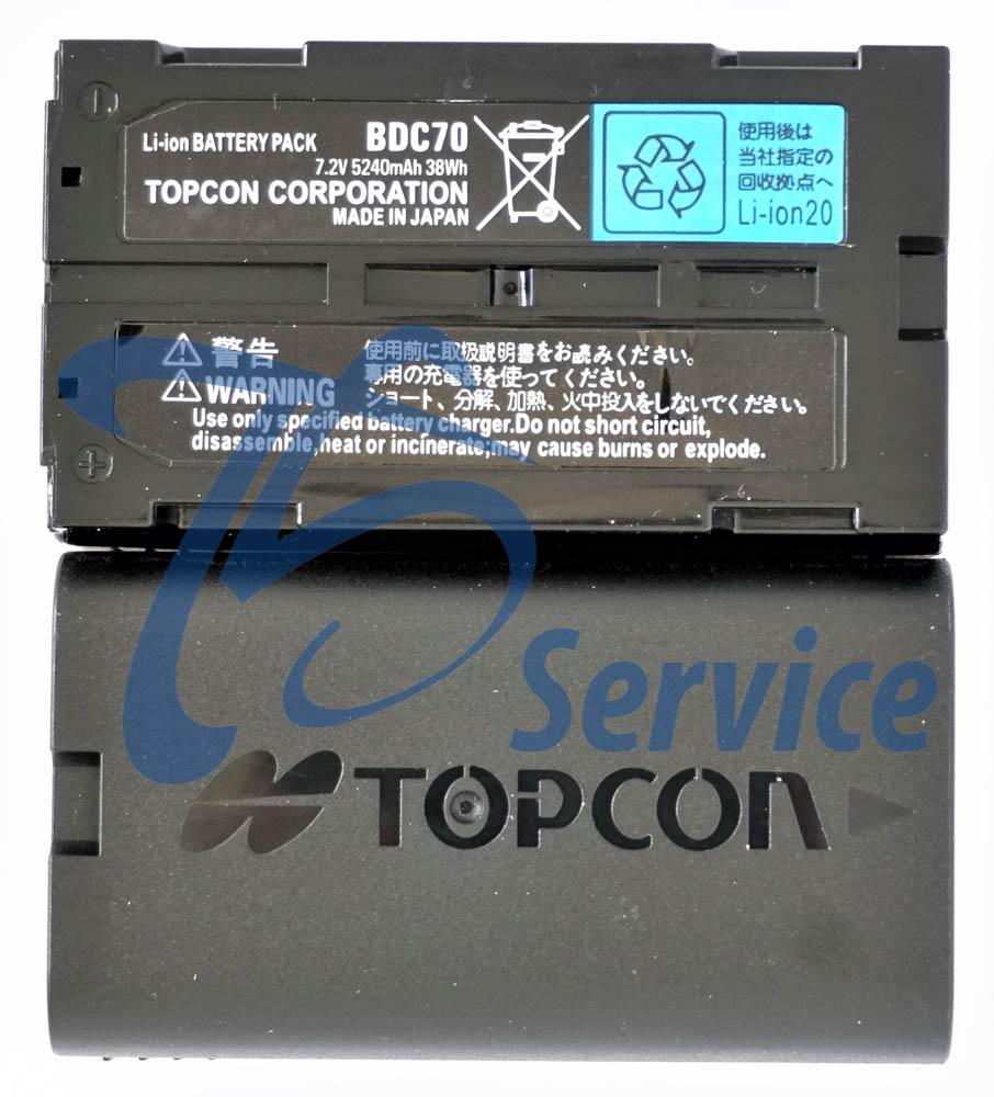 Batteria BDC-70 Topcon/Sokkia - Ts Service