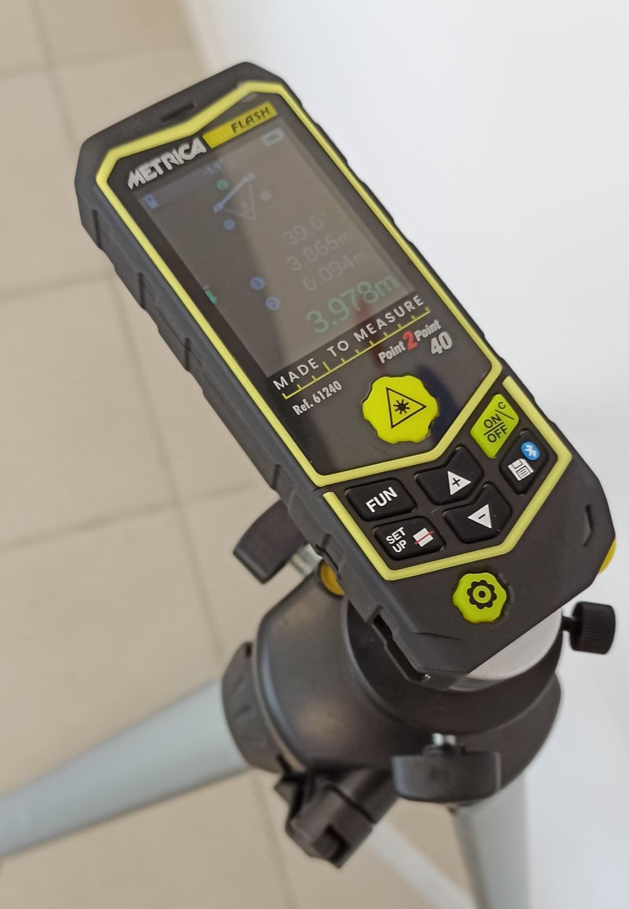 Certificato di Taratura con Riferibilità Metrologica Misuratore/Distanziometro Laser