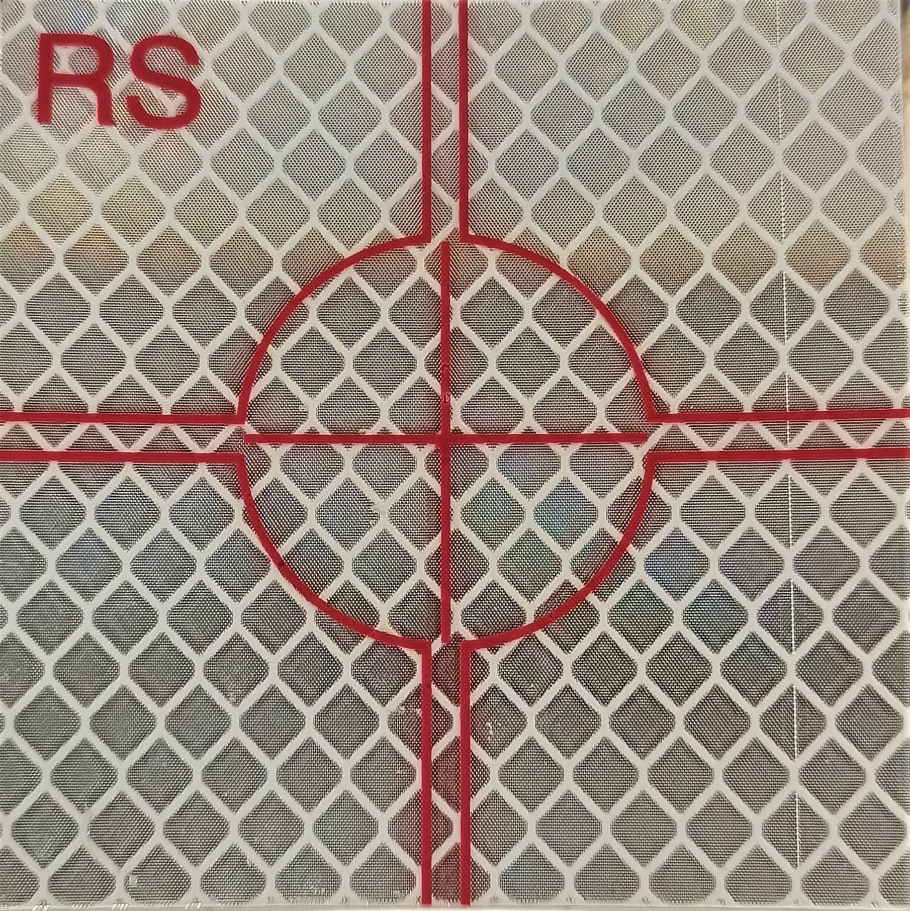 Target adesivo per la misurazione con bersaglio riflettente